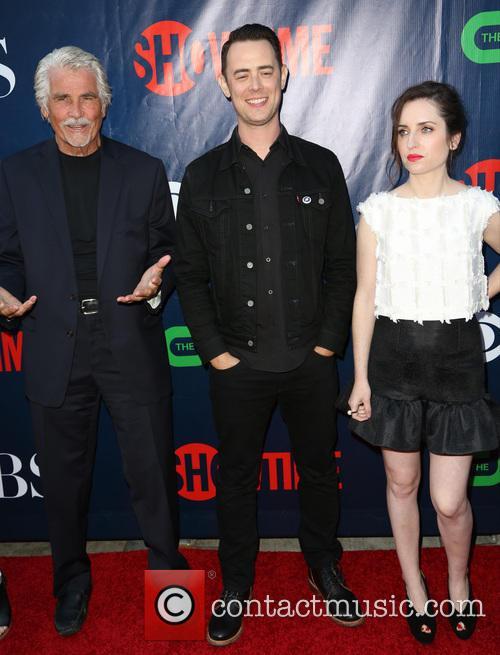 James Brolin, Colin Hanks and Zoe Lister Jones 1