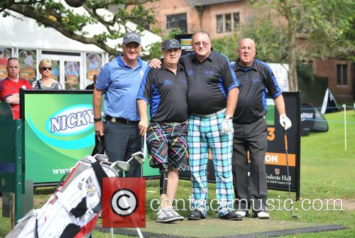 Halliwell, Peter Baker, Roger Hurcombe, Steve Kitt and Team Social Golfer 2