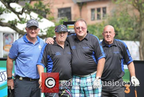 Halliwell, Peter Baker, Roger Hurcombe, Steve Kitt and Team Social Golfer 1