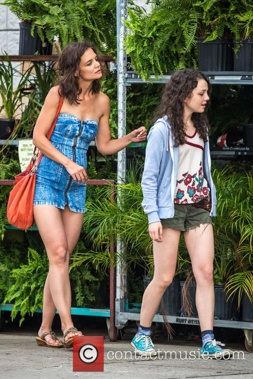 Katie Holmes and Stefania Owen 4