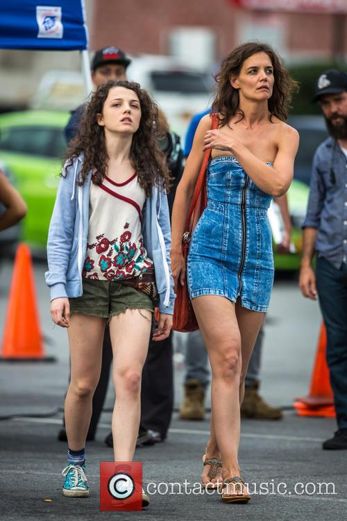 Katie Holmes and Stefania Owen 6