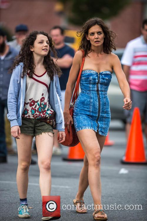 Katie Holmes and Stefania Owen 7