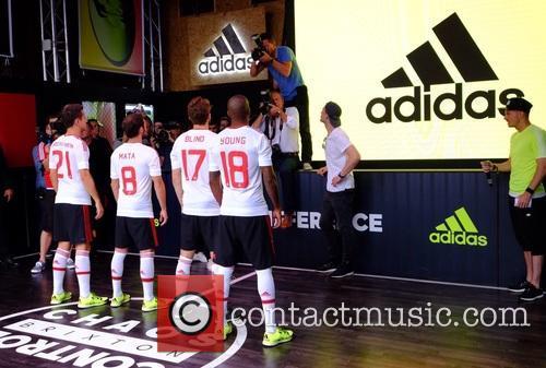 Daley, Juan Mata, Ander Herrera, Ashley Young and Manchester United 9