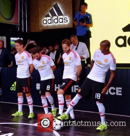 Daley, Juan Mata, Ander Herrera, Ashley Young and Manchester United 10