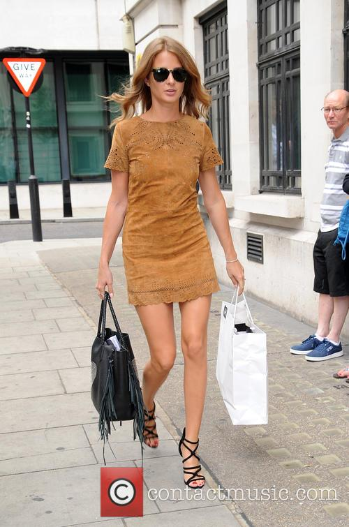 Millie Mackintosh at BBC Radio
