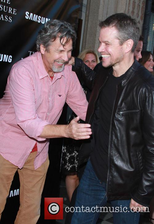 Peter Farrelly and Matt Damon 2