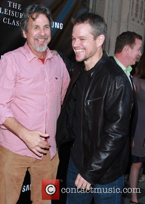 Peter Farrelly and Matt Damon 3