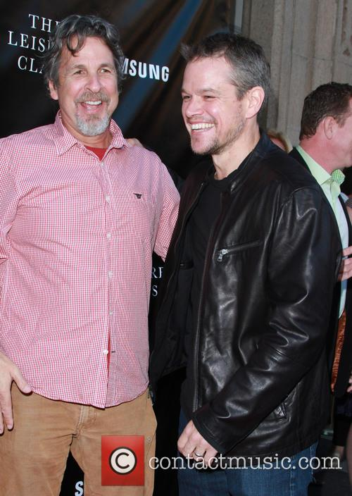 Peter Farrelly and Matt Damon 4