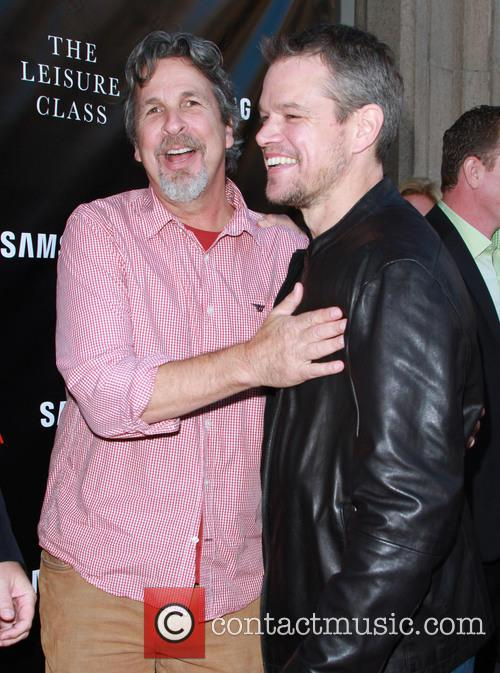 Peter Farrelly and Matt Damon 5