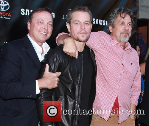 Bobby Farrelly, Matt Damon and Peter Farrelly 3