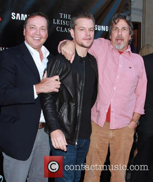 Bobby Farrelly, Matt Damon and Peter Farrelly 1