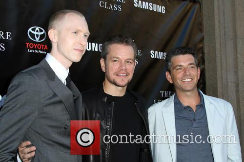 Jason Mann, Matt Damon and Marc Joubert 1