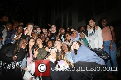 Zendaya Coleman and Fans 2