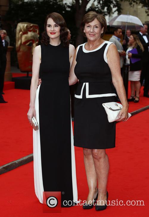 Michelle Dockery and Lorraine Dockery 1
