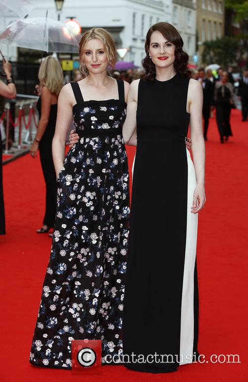 Laura Carmichael and Michelle Dockery 4