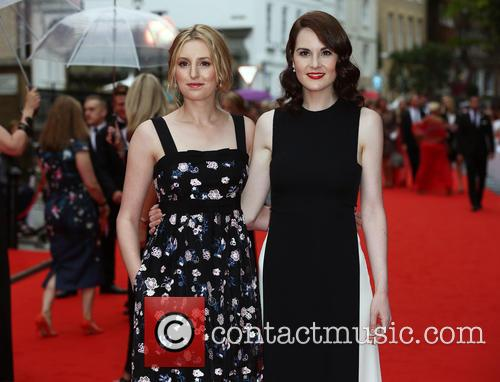 Laura Carmichael and Michelle Dockery 5