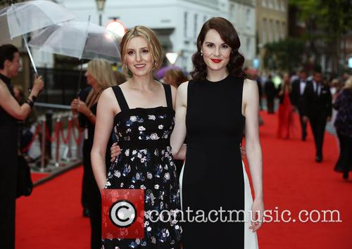Laura Carmichael and Michelle Dockery 6