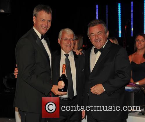 Gary Wolstenholme Mbe, Rick Cressman and Tony Jacklin Cbe 1