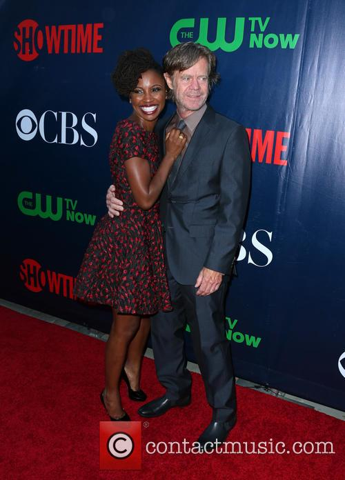 Shanola Hampton and William H. Macy