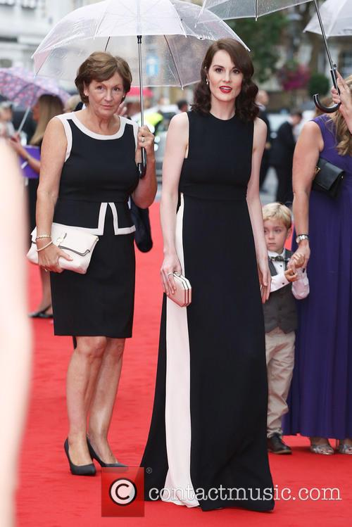 Michelle Dockery and With Her Mother Lorraine Dockery 2