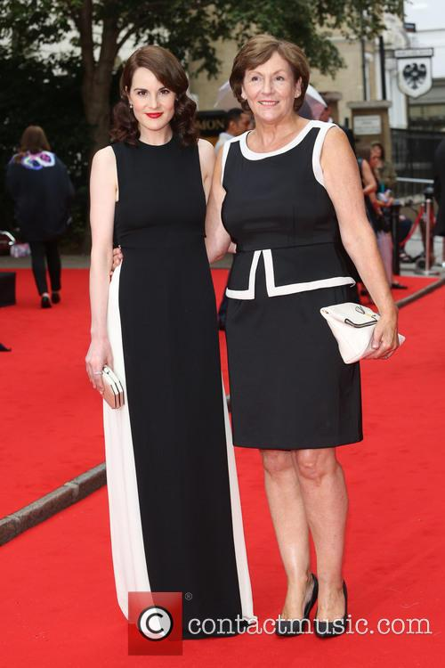 Michelle Dockery and With Her Mother Lorraine Dockery 1