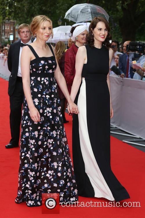 Laura Carmichael and Michelle Dockery 2
