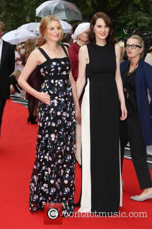 Laura Carmichael and Michelle Dockery 3
