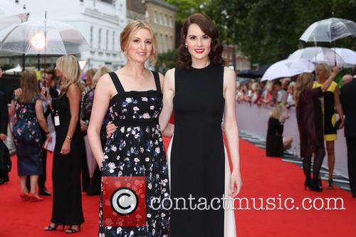 Laura Carmichael and Michelle Dockery 7