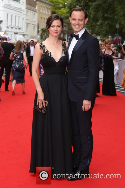 Harry Hadden-paton and Wife Rebecca Night 1