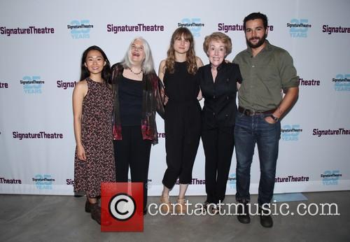 Hong Chau, Lois Smith, Annie Baker, Georgia Engel and Christopher Abbott 2