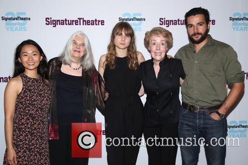 Hong Chau, Lois Smith, Annie Baker, Georgia Engel and Christopher Abbott 1