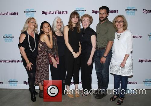 Hong Chau, Lois Smith, Annie Baker, Georgia Engel, Christopher Abbott and Signature Staff 1