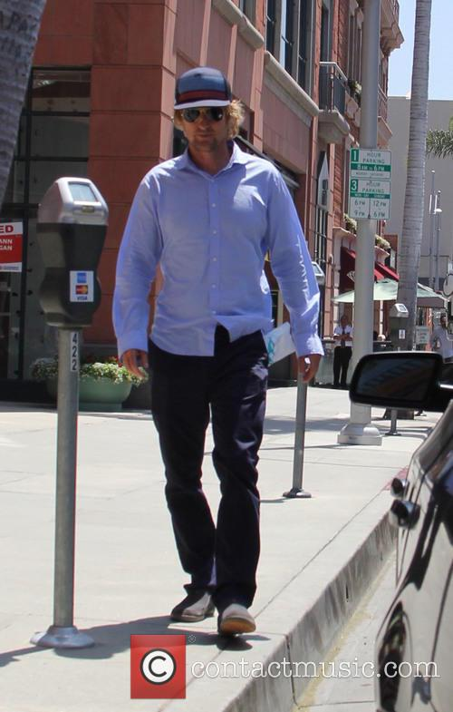 Owen Wilson out and about in Beverly Hills
