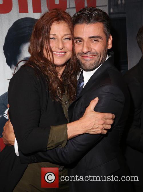 Catherine Keener and Oscar Isaac 1