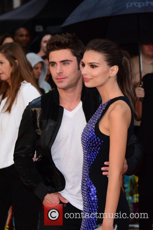 Zac Efron and Emily Ratajkowski 1
