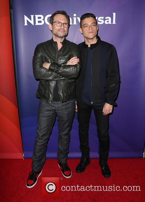 Christian Slater and Rami Malek 2