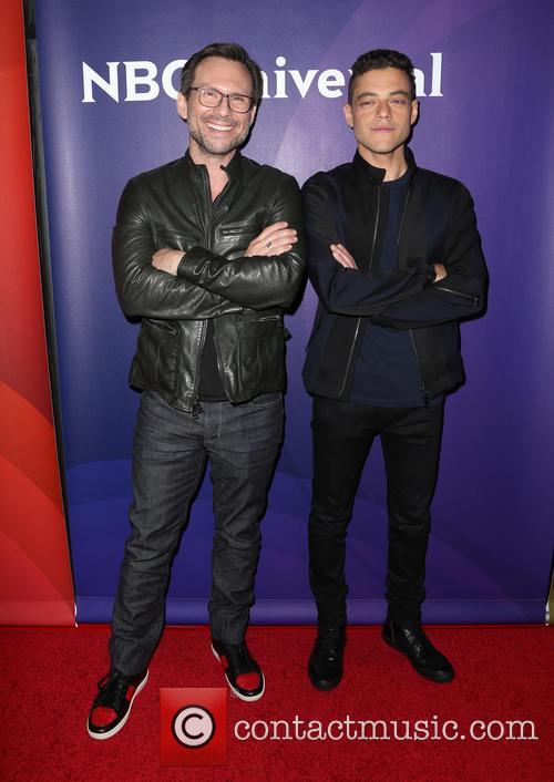 Christian Slater and Rami Malek 4