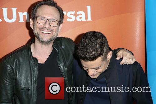 Christian Slater and Rami Malek 5