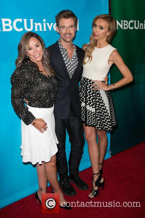 Melissa Rivers, Brad Goreski and Giuliana Rancic 3