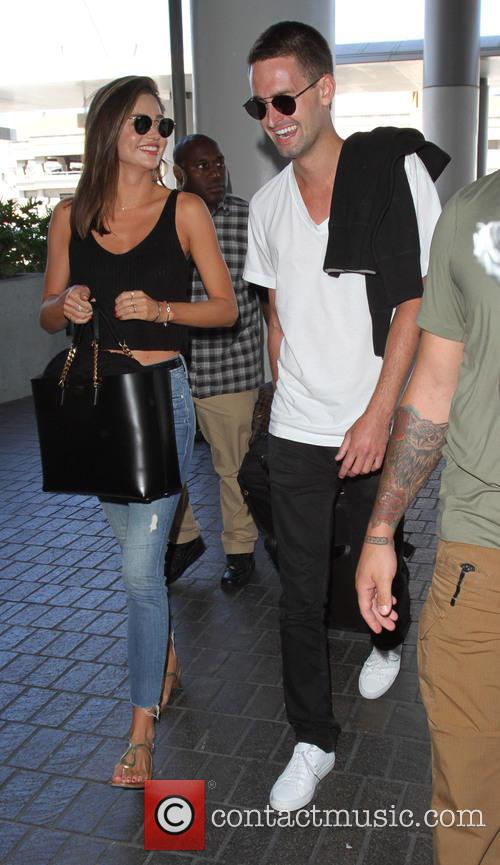 Miranda Kerr and Evan Spiegel 7