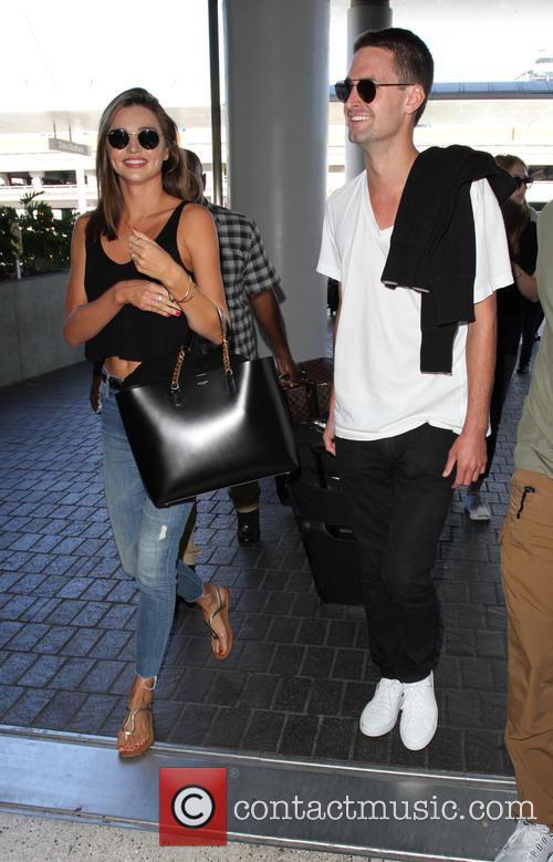Miranda Kerr and Evan Spiegel 1
