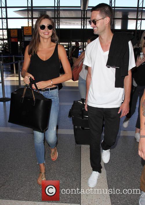Miranda Kerr and Evan Spiegel 8