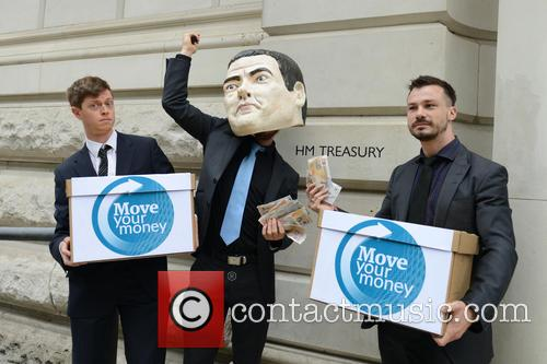'Move Your Money UK' Protest