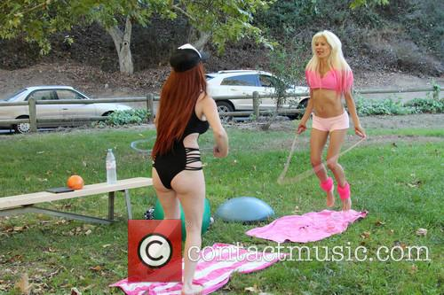 Phoebe Price and Frenchy Morgan 1