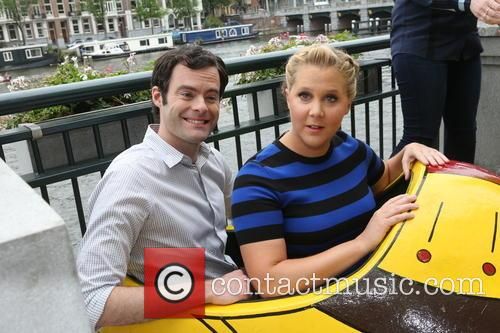 Amy Schumer and Bill Hader 3