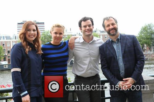 Vanessa Bayer, Amy Schumer, Bill Hader and Judd Apatow 2