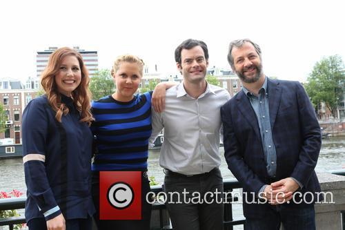 Vanessa Bayer, Amy Schumer, Bill Hader and Judd Apatow 3