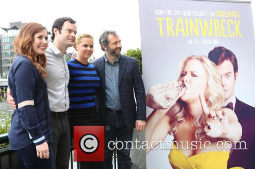 Vanessa Bayer, Amy Schumer, Bill Hader and Judd Apatow 4