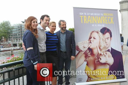 Vanessa Bayer, Amy Schumer, Bill Hader and Judd Apatow 1