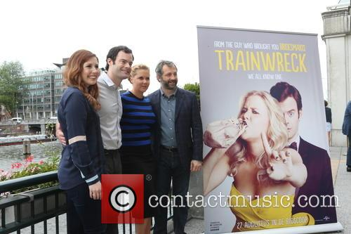 Vanessa Bayer, Amy Schumer, Bill Hader and Judd Apatow 6